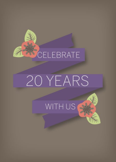 Celebrate 20 Years with Us